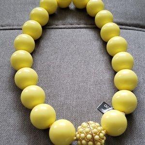 Fun Chunky Yellow Necklace